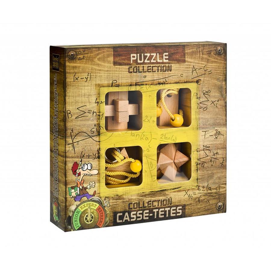 Expert ** - 4 casse-têtes en bois dans la boîte-1