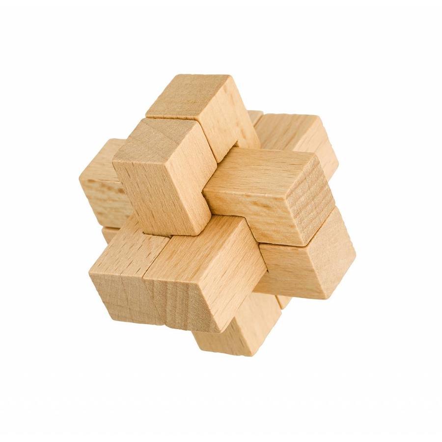 Expert**- 4 houten breinbrekers in doos-5