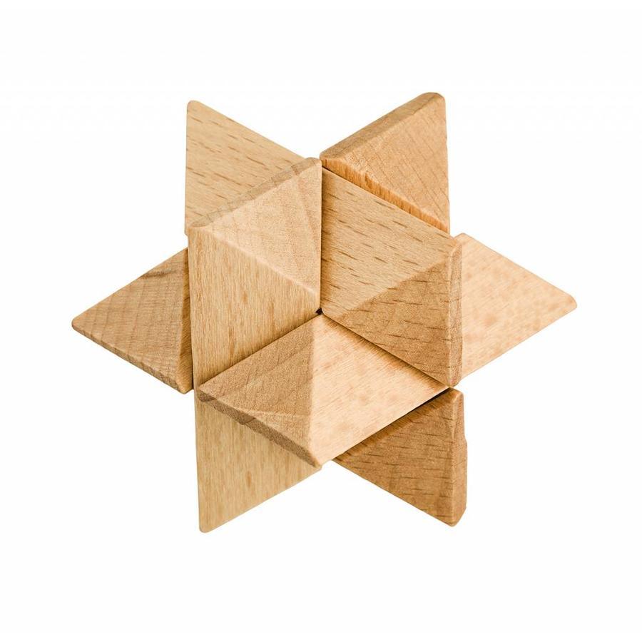 Expert ** - 4 casse-têtes en bois dans la boîte-3