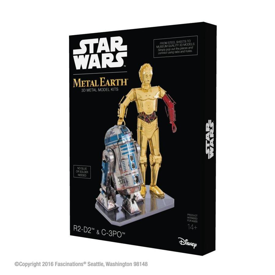 Star Wars R2D2 en C3PO box - 3D puzzel-2