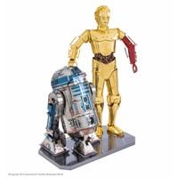thumb-Star Wars R2D2 en C3PO box - 3D puzzel-1