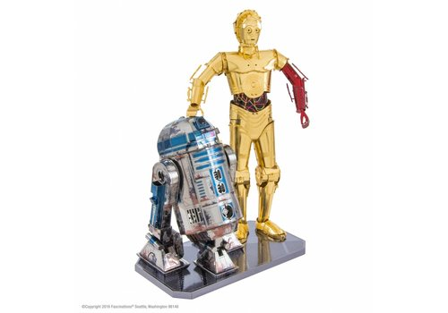 Star Wars R2D2 en C3PO box - 3D puzzle