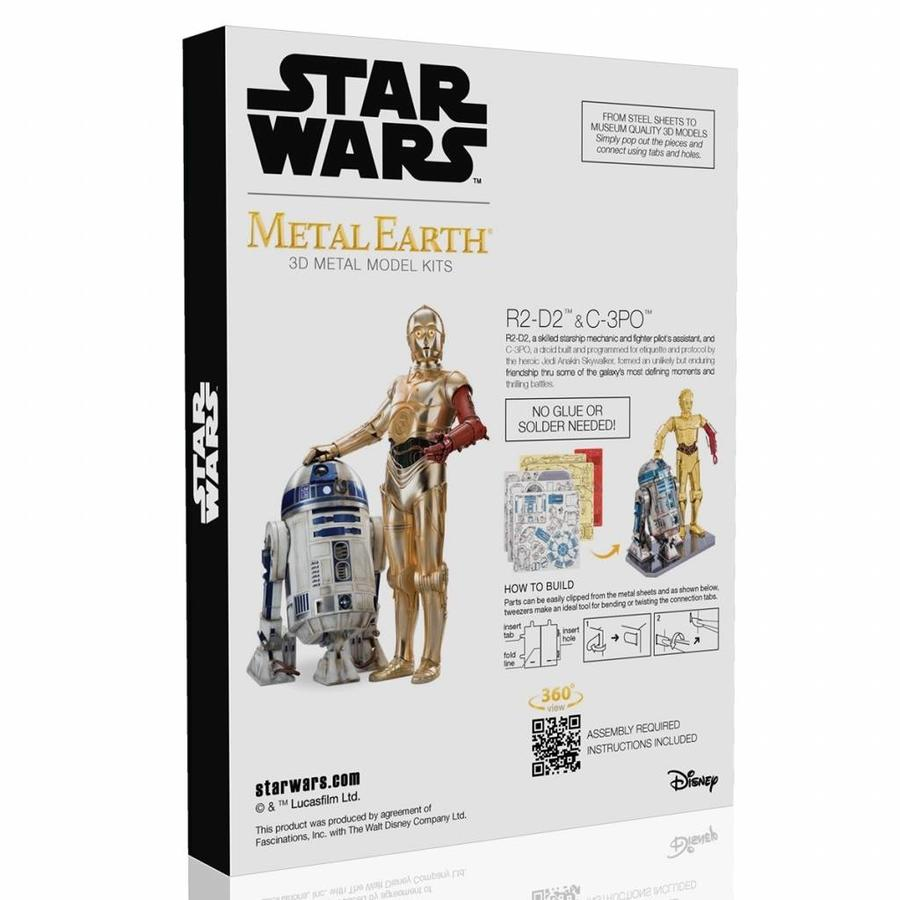 Star Wars R2D2 en C3PO box - 3D puzzel-3