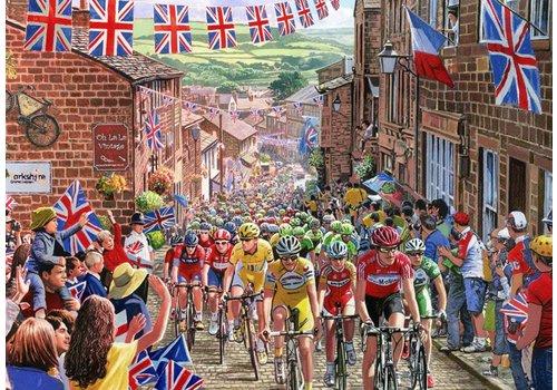 De wielerwedstrijd- 1000 stukjes