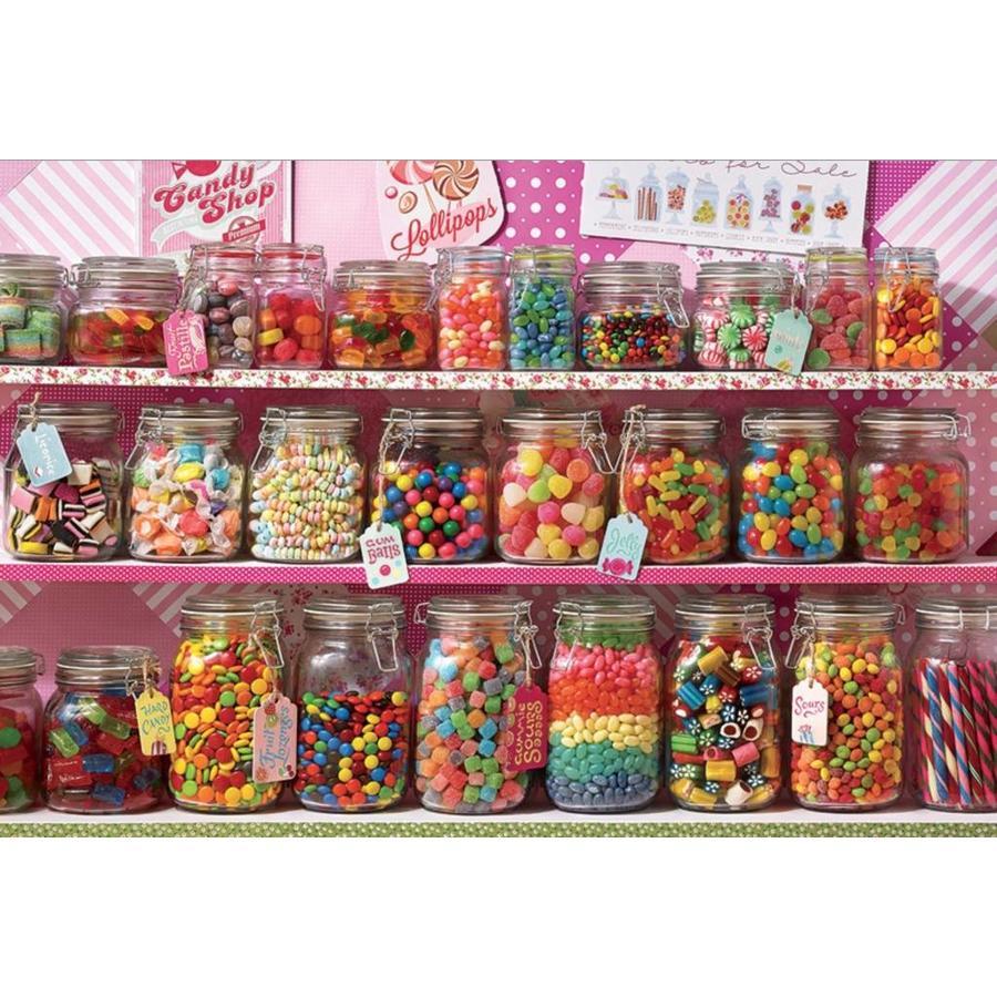 De snoepwinkel - 2000 stukjes-1