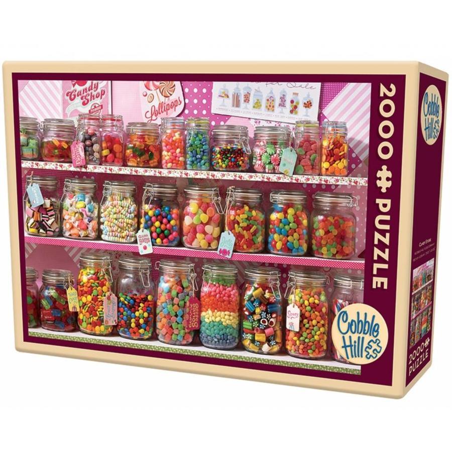 De snoepwinkel - 2000 stukjes-2