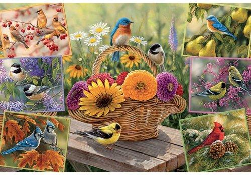 Oiseaux Rosemarie - 2000 pièces