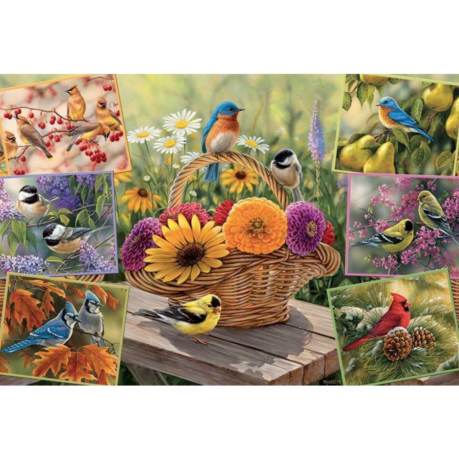 De vogels van Rosemarie - 2000 stukjes-1