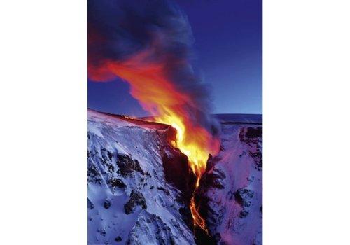 Vulkaanuitbarsting - 1000 stukjes