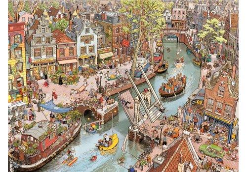 Souriez - Amsterdam- 1500 pièces