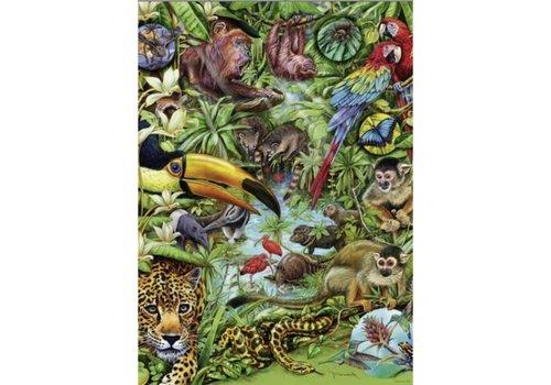 Leven in het regenwoud - 1000 stukjes