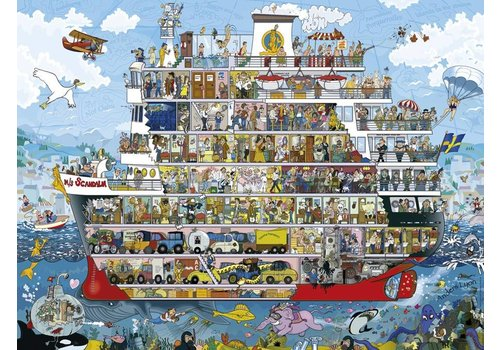 Cruise - Anders Lyon - 1500 stukjes