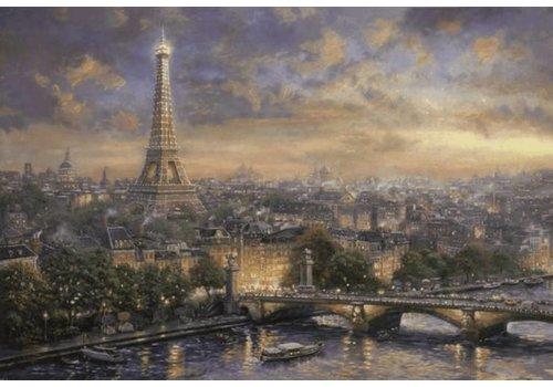 Parijs, de stad van de liefde - 1000 stukjes
