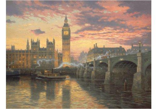 Londen bij valavond - 1000 stukjes