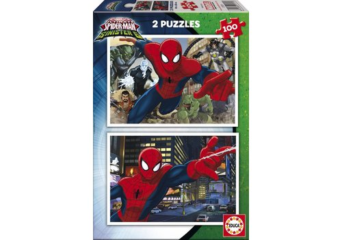 Ultimate Spiderman - 2 x 100 pieces
