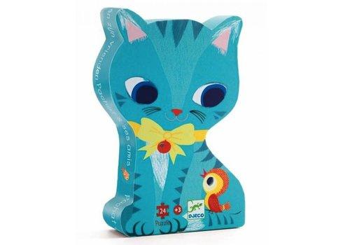 Le chat et ses amis - 24 pièces