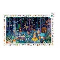 La forêt enchantée - casse-tête de 100 pièces