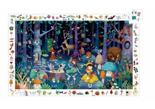Djeco La forêt enchantée - 100 pièces