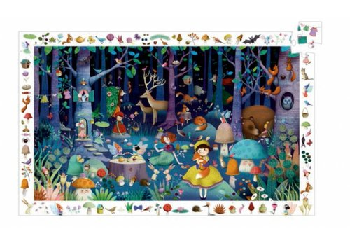 The enchanted forest - 100 pieces