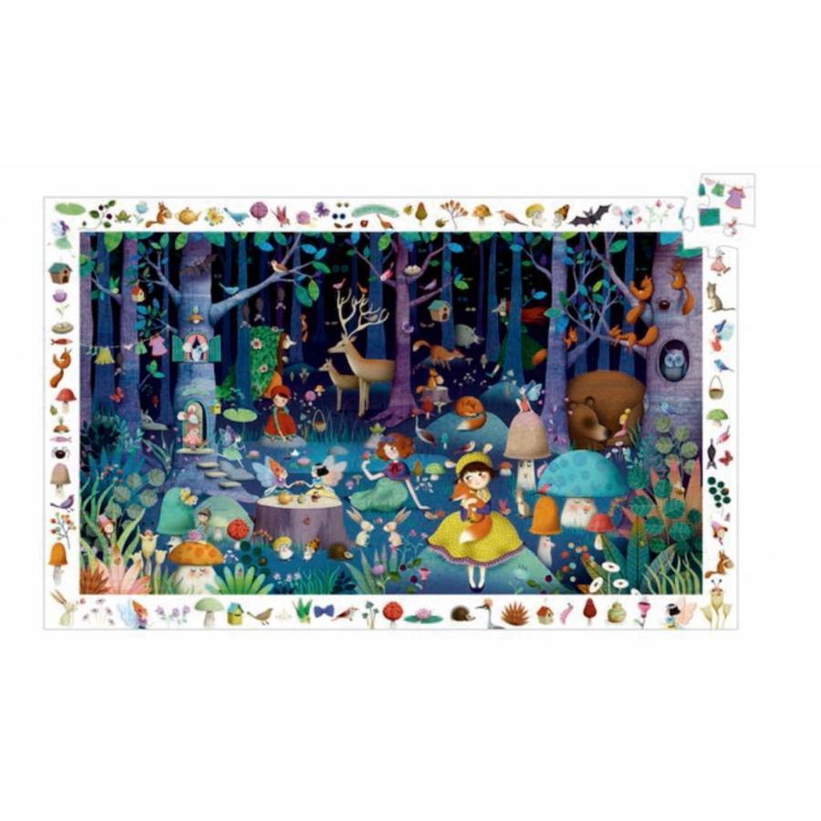 La forêt enchantée - casse-tête de 100 pièces-1