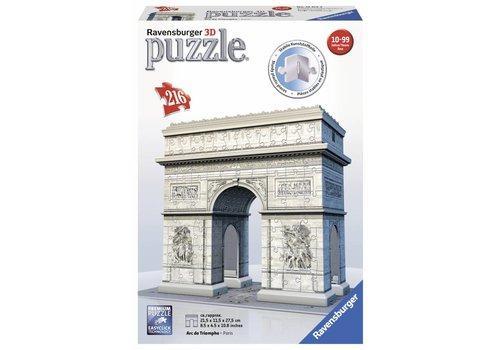 Arc de Triomphe - 3D puzzel - 216 stukjes