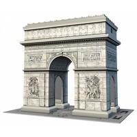 thumb-Arc de Triomphe - 3D puzzel - 216 stukjes-2