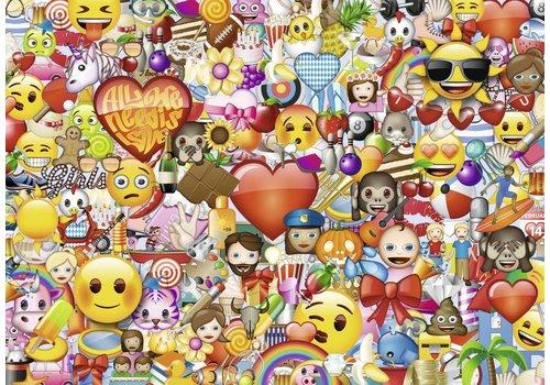 Allemaal Emojis - 1000 stukjes