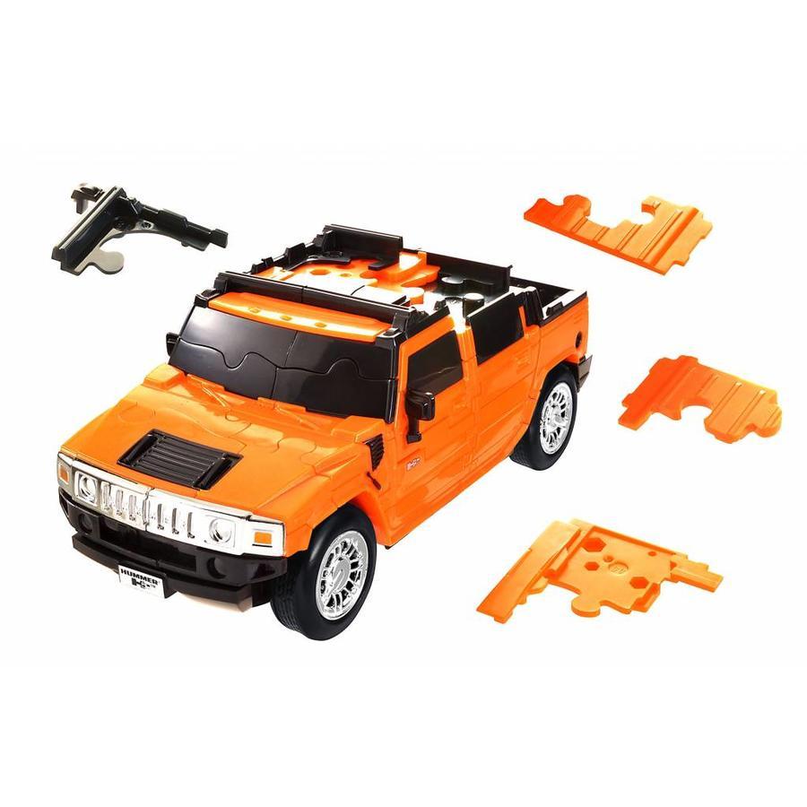 Hummer *** - 3D puzzle car-2