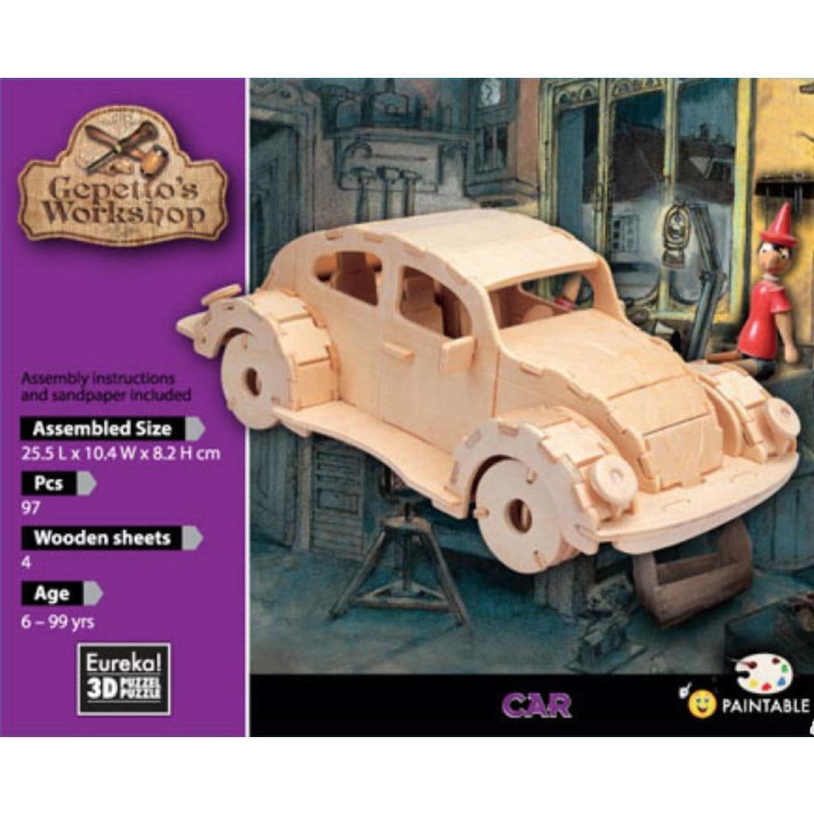 Car - Atelier de Gepetto - Puzzle 3D-2