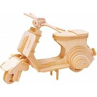 thumb-Scooter - Vespa - Atelier de Gepetto - Puzzle 3D-1