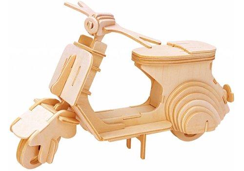 Eureka Scooter - Vespa - Atelier de Gepetto - Puzzle 3D