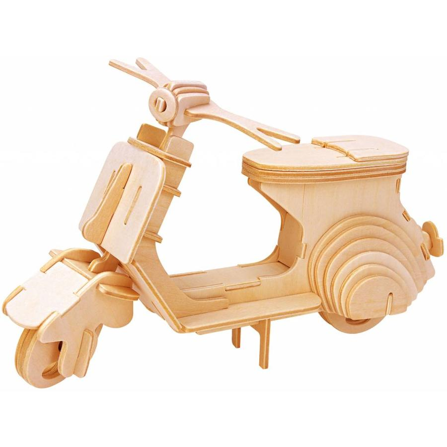 Scooter - Vespa - Puppet Workshop - 3D puzzle-1