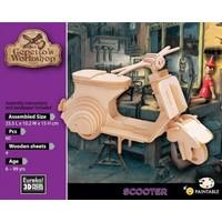 thumb-Scooter - Vespa - Atelier de Gepetto - Puzzle 3D-2