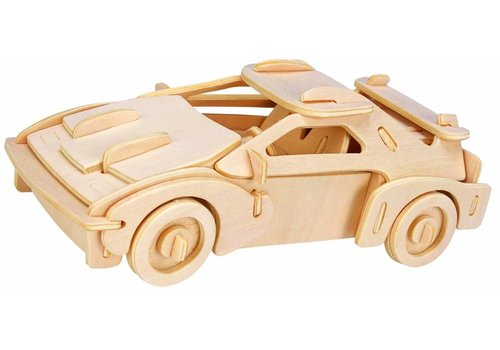 Racewagen- Gepetto's Workshop - 3D puzzel