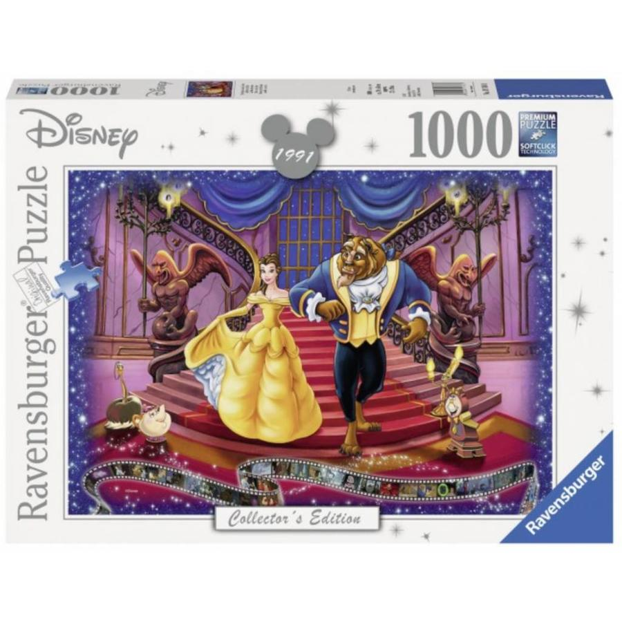 Belle en het Beest  - Disney - Collector's Item - puzzle van 1000 stukjes-1