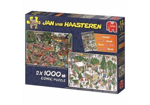 Jumbo Christmas Gifts - JvH - 2x 1000 pieces