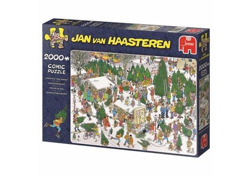 Kerstbomenmarkt - JvH - 2000 stukjes