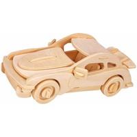 thumb-Sportwagen - Gepetto's Workshop - 3D puzzle in hout-1