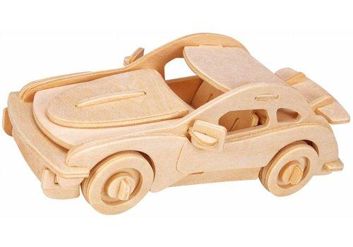 Eureka Racecar- Atelier de Gepetto - Puzzle 3D