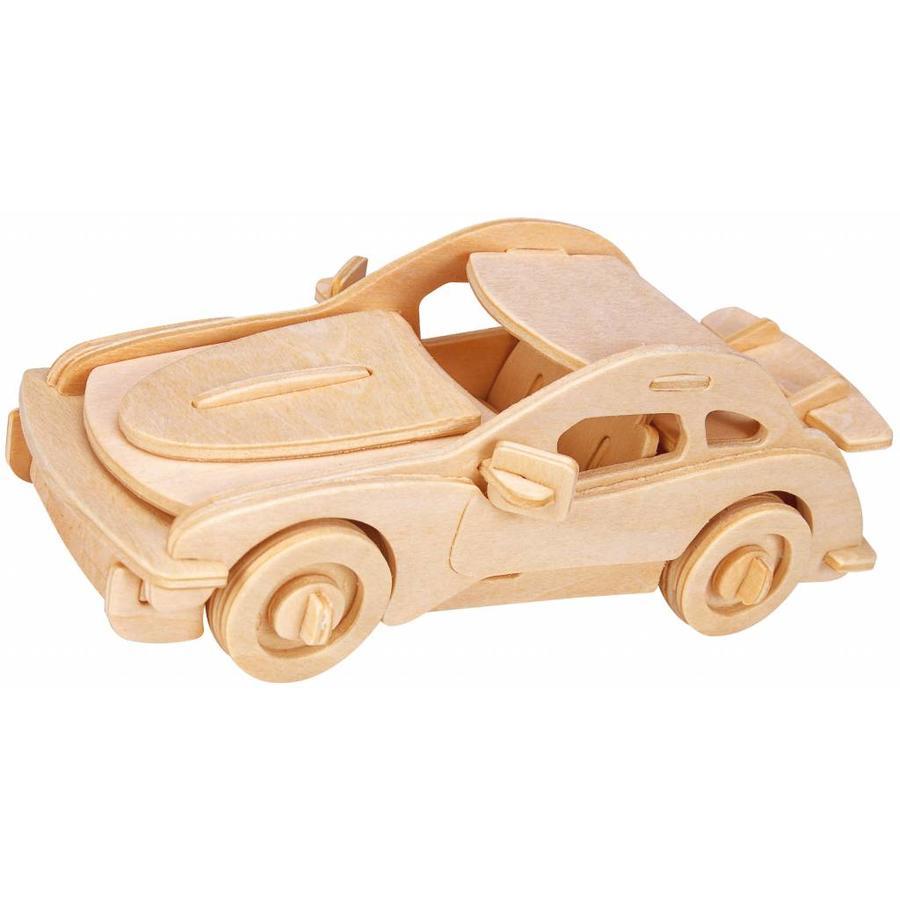 Sportwagen - Gepetto's Workshop - 3D puzzle in hout-1