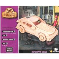 thumb-Sportwagen - Gepetto's Workshop - 3D puzzle in hout-2