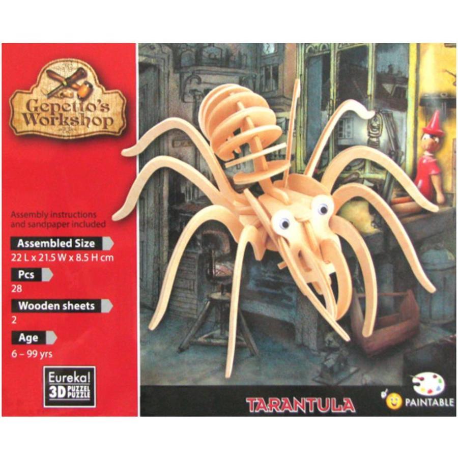 Tarantula - Gepetto's Workshop - 3D puzzel  in hout-2