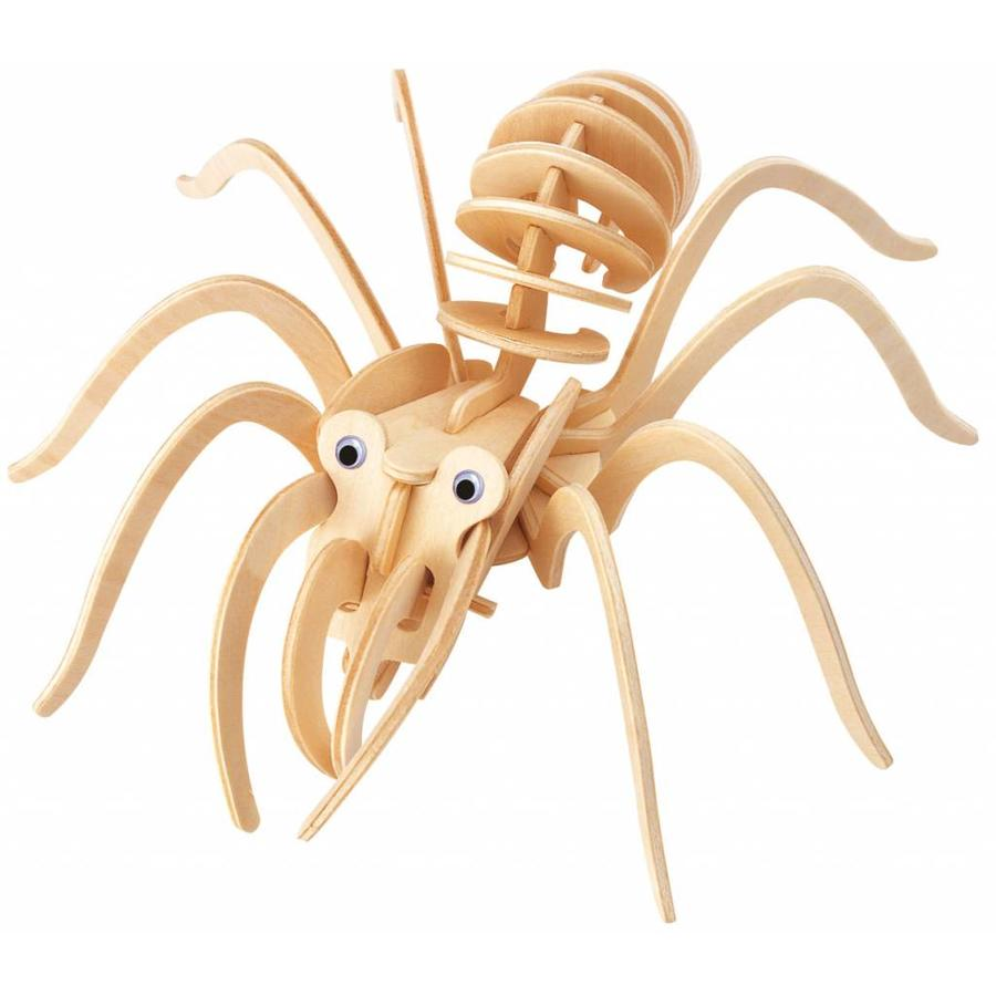 Tarantula - Gepetto's Workshop - 3D puzzel  in hout-1