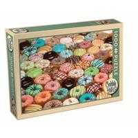 thumb-Donuts de toutes les couleurs - puzzle de 1000 pièces-2