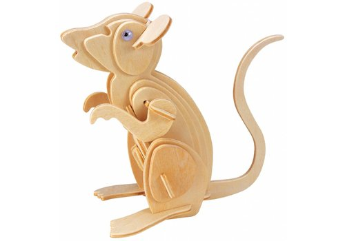 Mouse - Gepetto's Workshop - 3D puzzle
