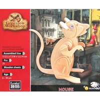 thumb-Muis - Gepetto's Workshop - 3D puzzle in hout-2