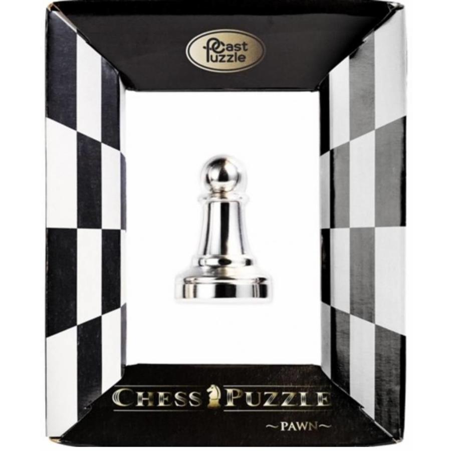 Pion Argent - Pièce d'échecs - Casse-tête de Cast-1