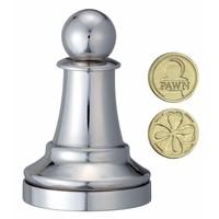 thumb-Pion Argent - Pièce d'échecs - Casse-tête de Cast-2
