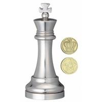 thumb-Koning Zilver - Schaakstuk - Cast breinbreker-2