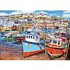Gibsons Le Port de Mevagissey - puzzle de 1000 pièces